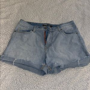 BDG by Urban Outfitters High Rise Denim Shorts